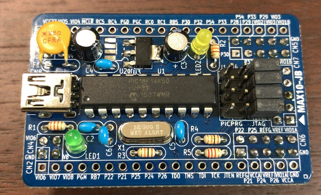 Max10-JB board